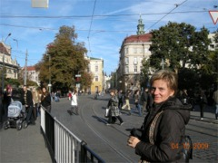 Mirka na lwowskiej ulicy
