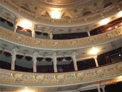 Balkony widowni w Operze Lwowskiej